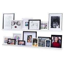 Wallniture Denver Modern Wall Mount Floating Shelves