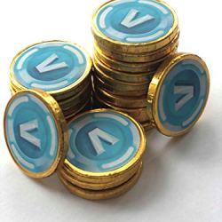 B.B 40 Fortnite Inspired V Bucks Chocolate Coins Loose