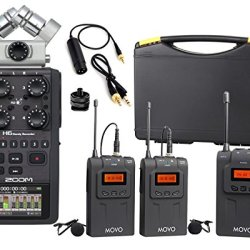Zoom H6 Six-Track Portable Handy Recorder Bundle