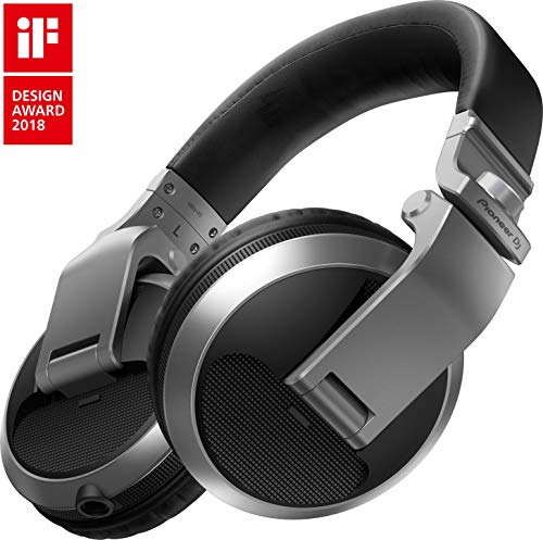 Pioneer Pro DJ DJ Headphones, Silver