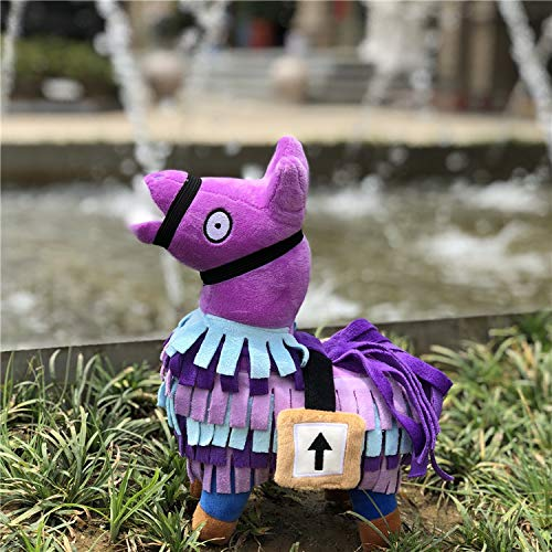 ALLYK Pack: Llama Plush Stuffed Toy 7.9inch in Height ALLYK Pack: Llama Plush Stuffed Toy 7.9inch in Height +2 Pairs Funny Crew 100%Cotton Novelty Socks Great Gift for Gamers Lovers.