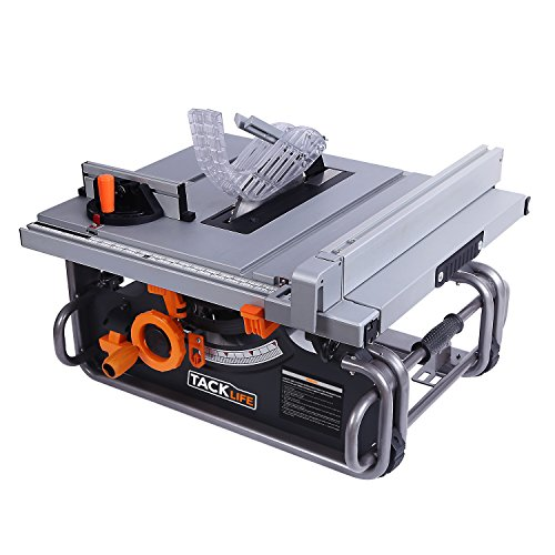"""Tacklife PTSG1A 10"""" Table Saw with 40""""X20"""" Max Extendable"""