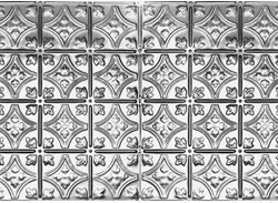 """10 (2' x 4') sheets of Tin Ceiling 6"""" Decorative Victorian Design"""