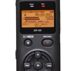 TASCAM DR-05 Portable Digital Recorder