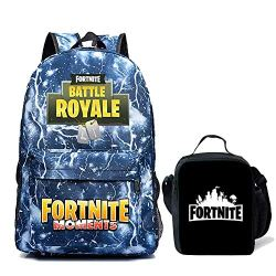 Fortnite Backpack Boy Insulated Lunch Box School