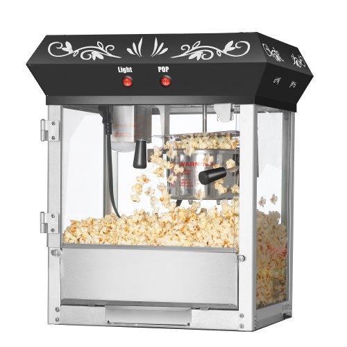 Great Northern Popcorn Black 6 oz. Ounce Foundation
