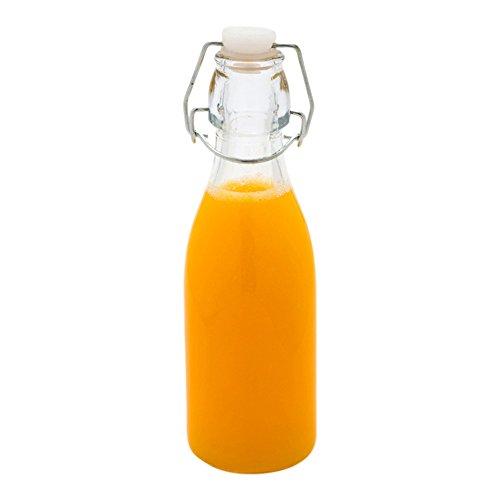 Swing Top Glass Bottle 8.5 oz - Grolsch Style Bottles