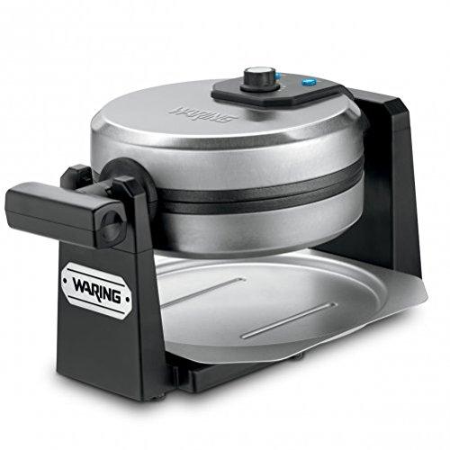 Waring Pro Belgian Waffle Maker, Stainless Steel/Black