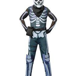 Spirit Halloween Kids Fortnite Skull Trooper Costume - M