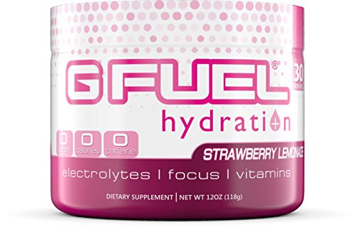 G Fuel Hydration Strawberry Lemonade Tub Elite Hydration