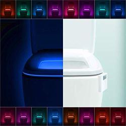 LumiLux Advanced 16-Color Motion Sensor LED Toilet Bowl Night