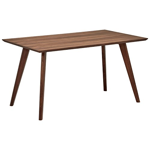 Rivet Mid-Century Minimalist Dining Table