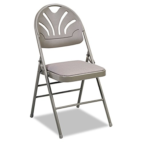 Cosco Fabric Padded Seat/Molded Fan Back Folding Chair