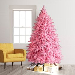 Treetopia Pretty in Pink Artificial Christmas Tree, 5 Feet, Pink Lights