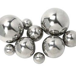 IMAX Abbott Steel Decorative Ball, Set of 9