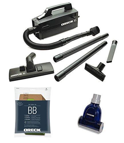 Oreck Handheld Bagged Canister Vacuum Bundle