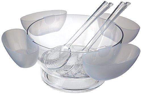 Prodyne Orbit Bowl On Ice with 4 Side Servers