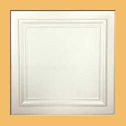 Zeta White (Foam) Ceiling Tile - 40pc Box