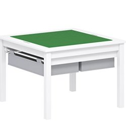 UTEX 2 in 1 Kids Construction Play Table with Storage
