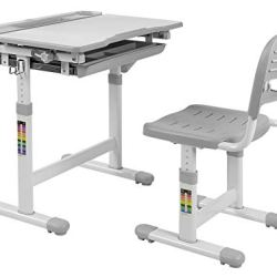 Mount-It! Kids Desk and Chair Set, Height Adjustable