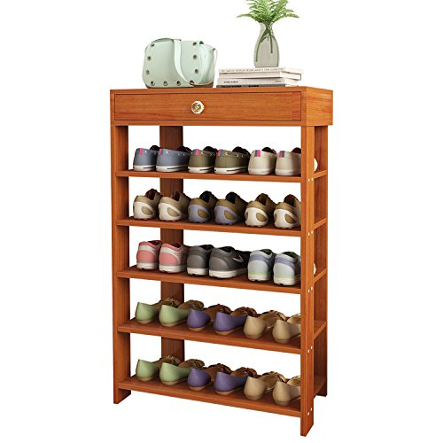 Jerry & Maggie - 5 Tier Wood MDF Solid Shoe