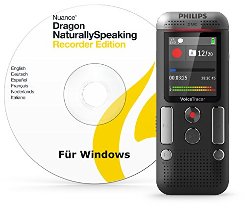Philips Voice Tracer with Speech Recognition Software