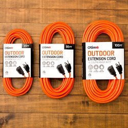 Otimo 50 Ft 16/3 Outdoor Heavy Duty Extension Cord