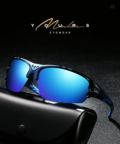 Aigemi Polarized Sports Sunglasses for Men Women