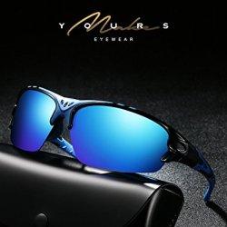 Aigemi Polarized Sports Sunglasses for Men Women