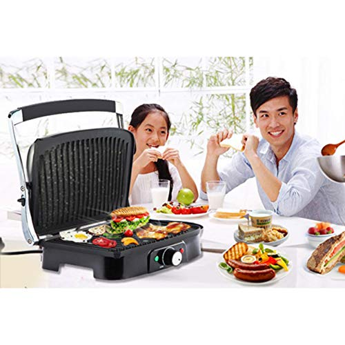 Electric Smoke-Free Indoor Grill - Breakfast Machine
