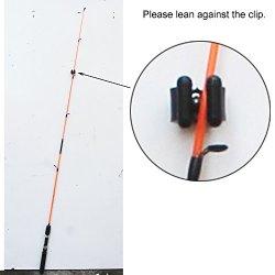 YYST 20 Regular Fishing Rod Storage Clips Fishing Rod