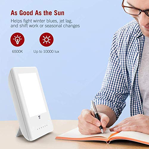 TaoTronics Light Therapy Lamp, 10000 Lux
