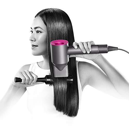 Dyson Supersonic Hair Dryer, Iron/Fuchsia