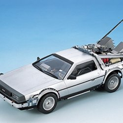 Aoshima Models Delorean from Back to The Future