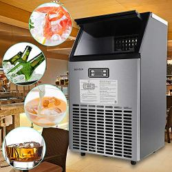 ROVSUN Commercial Ice Maker Automatic Built-In
