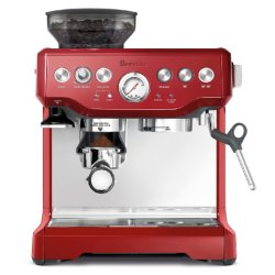 Breville The Barista Express Coffee Machine, Cranberry Red