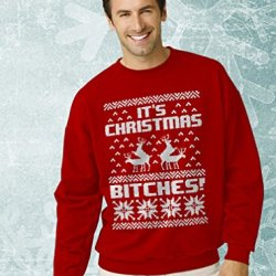 Ugly Christmas Sweater Style Sweatshirt