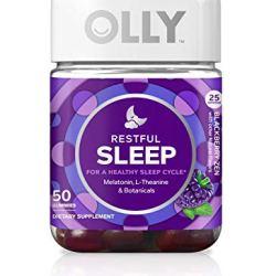 OLLY Restful Sleep Gummy Supplement with Melatonin
