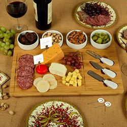 Picnic at Ascot Bamboo Large Cheese/Charcuterie Board
