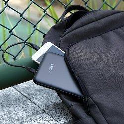 AUKEY 20000mAh External Charger, USB-C Power Bank