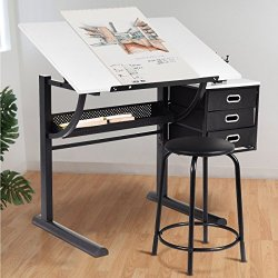 Art & Craft Drawing Desk Art Hobby Folding