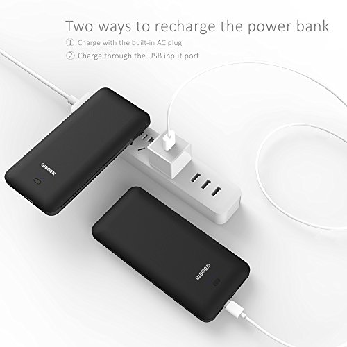 WOBON Portable Charger 10000mAh Compact Power Bank