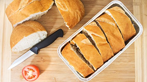 Disposable Loaf Pan - 30-Piece 2-LB Cooking Tins