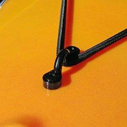 YYST 10 Pcs Kayak Nylon Bungee Deck Loops Tie