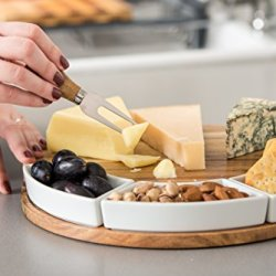 Shanik Cheese Cutting Board Set - Charcuterie Board Set