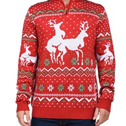 Tipsy Elves Men's Christmas Climax Sweater