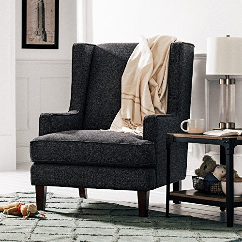 Stone & Beam Highland Modern Wingback Accent Chair