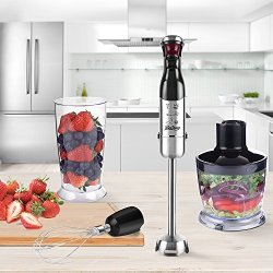 Betitay Immersion Hand Blender, 4-in-1 Food Blender