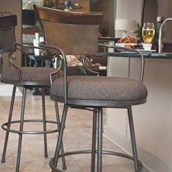 Ashley Furniture Signature Design - Moriann Swivel Barstool