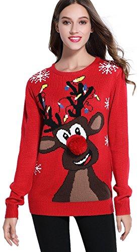 *daisysboutique* Women's Christmas Cute Reindeer